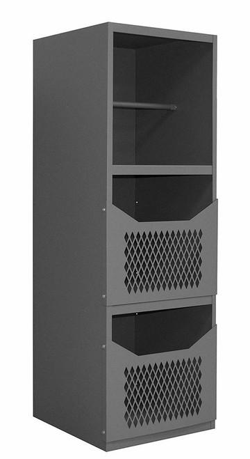 DURHAM VSCSP-242472-2-95, Spill Control Cabinet, 16 gauge, 3 shelf