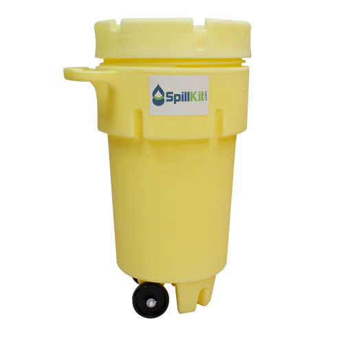 50 Gallon Wheeled Overpack Salvage Drum Spill Kit - Universal by SpillKit.com