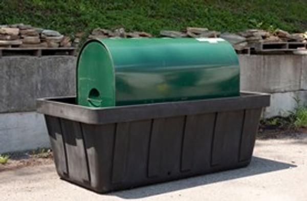 EAGLE 275 gal. Tank Spill Unit - Black w/Drain