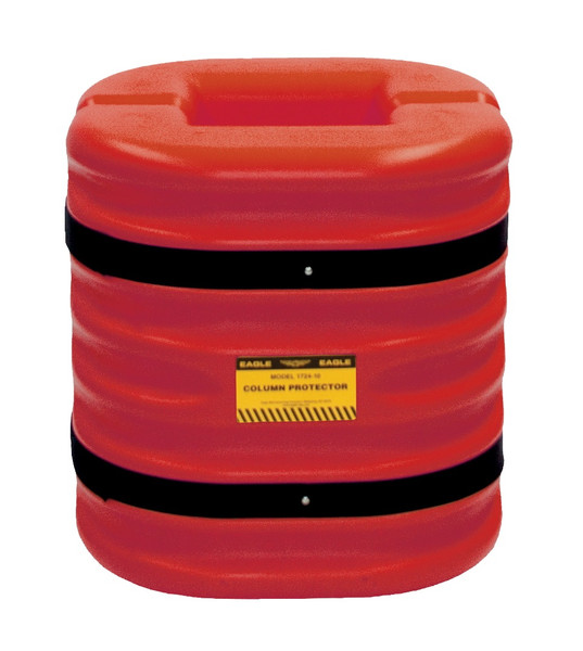 """12"""" Column Protector, 24"""" High, Red"""