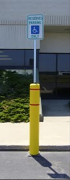 "Innoplast 52"" Bollard Flex System - Natural Ground Model"