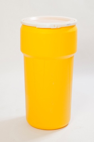 20 Gal Lab Pack (Yellow) w/Plastic Lever-Lock Ring