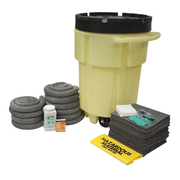 95 Gal Wheeled Poly-SpillPack Spill Kit - Universal
