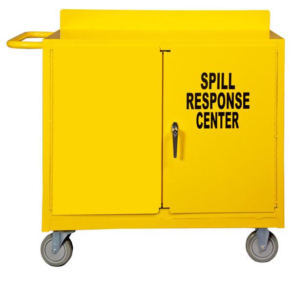 DURHAM 2210-50, Spill Control Cart, 1 shelf, yellow