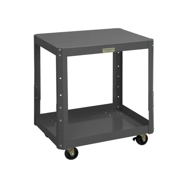 DURHAM MTMA182428-1K23PO95, Adjustable Height Mobile Machine Table