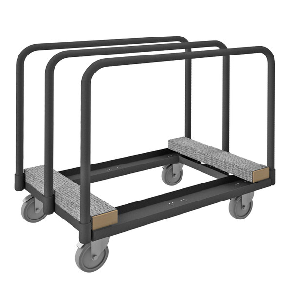DURHAM PM-2439-CR-95, Panel Moving Truck, 3 dividers