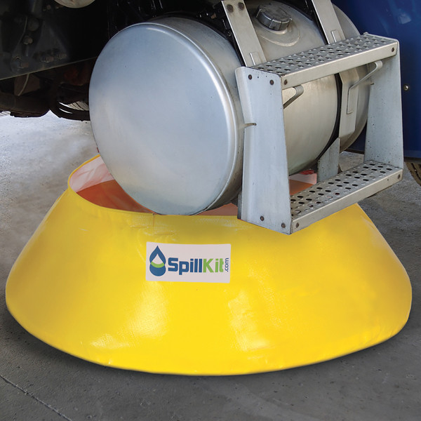 Truck-Mounted Spill Kit - Oil Only by SpillKit.com