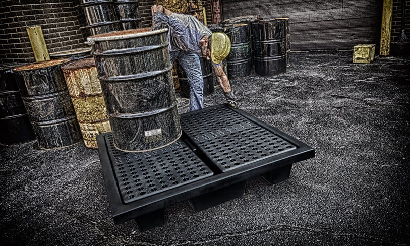 Be Proactive and Prevent Spills with Secondary Containment Pallets