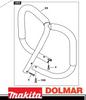DOLMAR  PS-630, 6400, 7300, 7310, 7900, 7910, MAKITA DCS6401, DSC7301, DCS7901, DCS642120, EA7900 CHAINSAW FULL WRAP HANDLE BAR NEW OEM 038310111