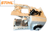 STIHL MS 201 T FUEL TANK AND ENGINE HOUSING NEW OEM 11453500811