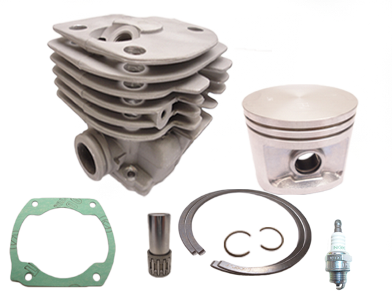 Adefol 52mm Cylinder Piston Kit for Husqvarna 372XP 371 365 362 375K Big Bore Chainsaw Replace Parts 503 93 93 72