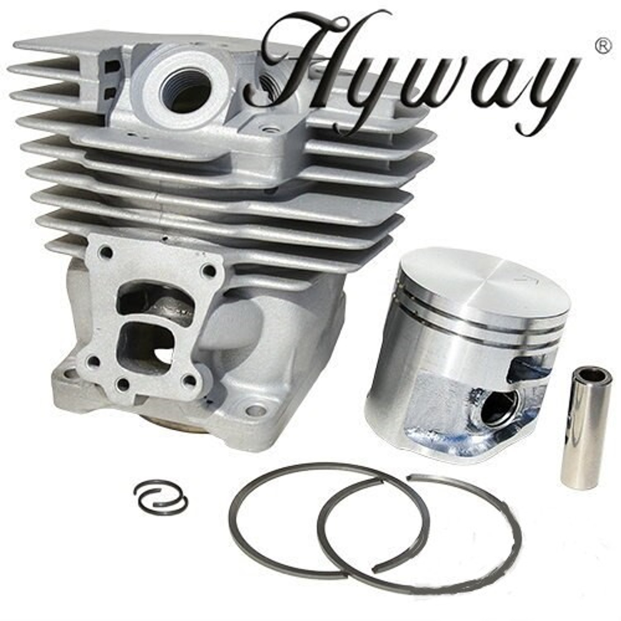 Hyway Nikasil Plated Cylinder Kit fits Stihl MS391 Chainsaw Parts ...