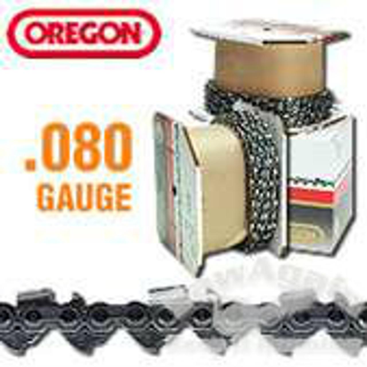 OREGON .404 .080 GUAGE 18HX 100' ROLL CHAIN FOR HARVESTER AND PROCESSOR APPLICATION 18HX100R
