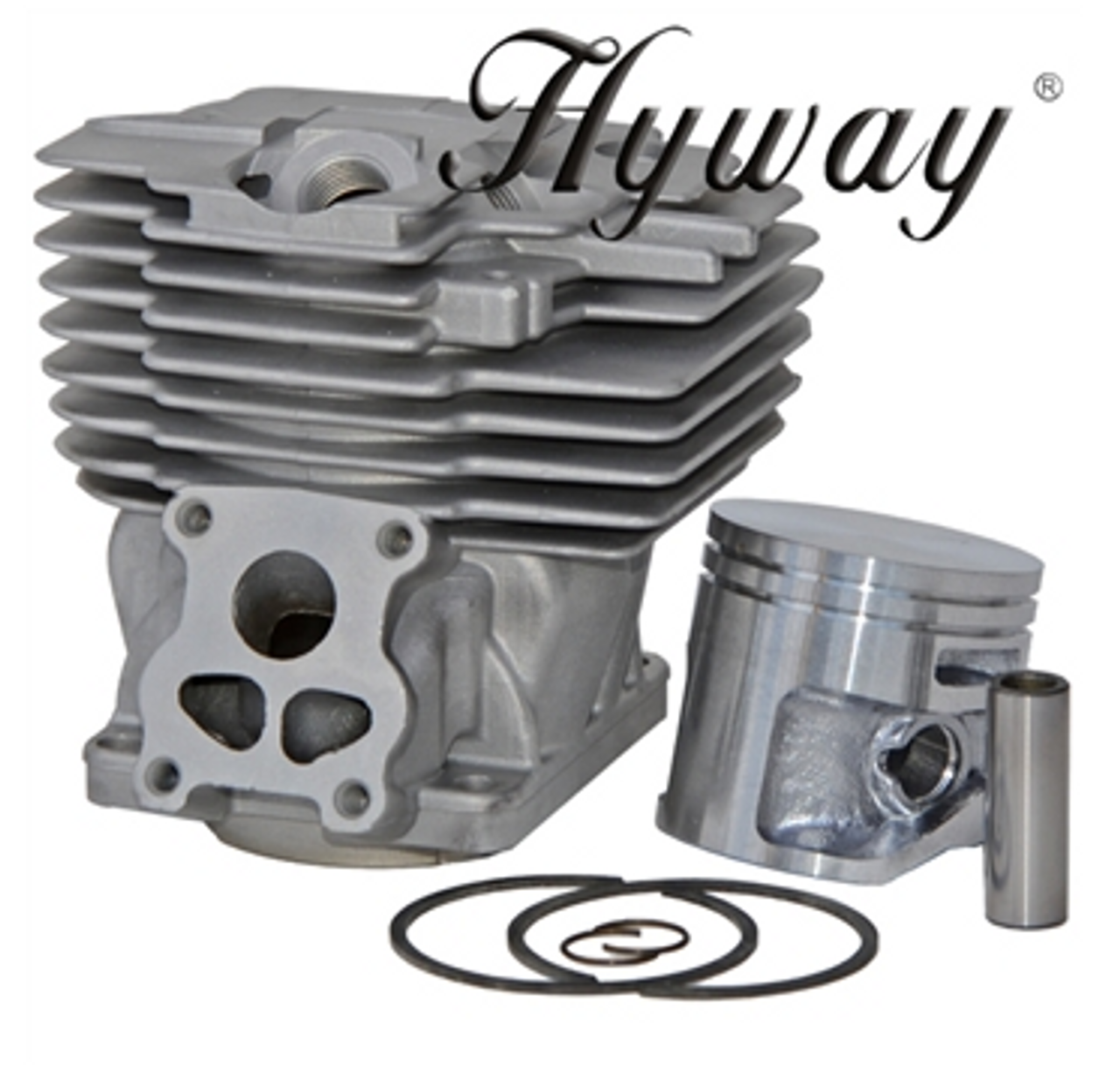 HYWAY STIHL MS 441 50MM CYLINDER AND PISTON RING ASSEMBLY 11380201201