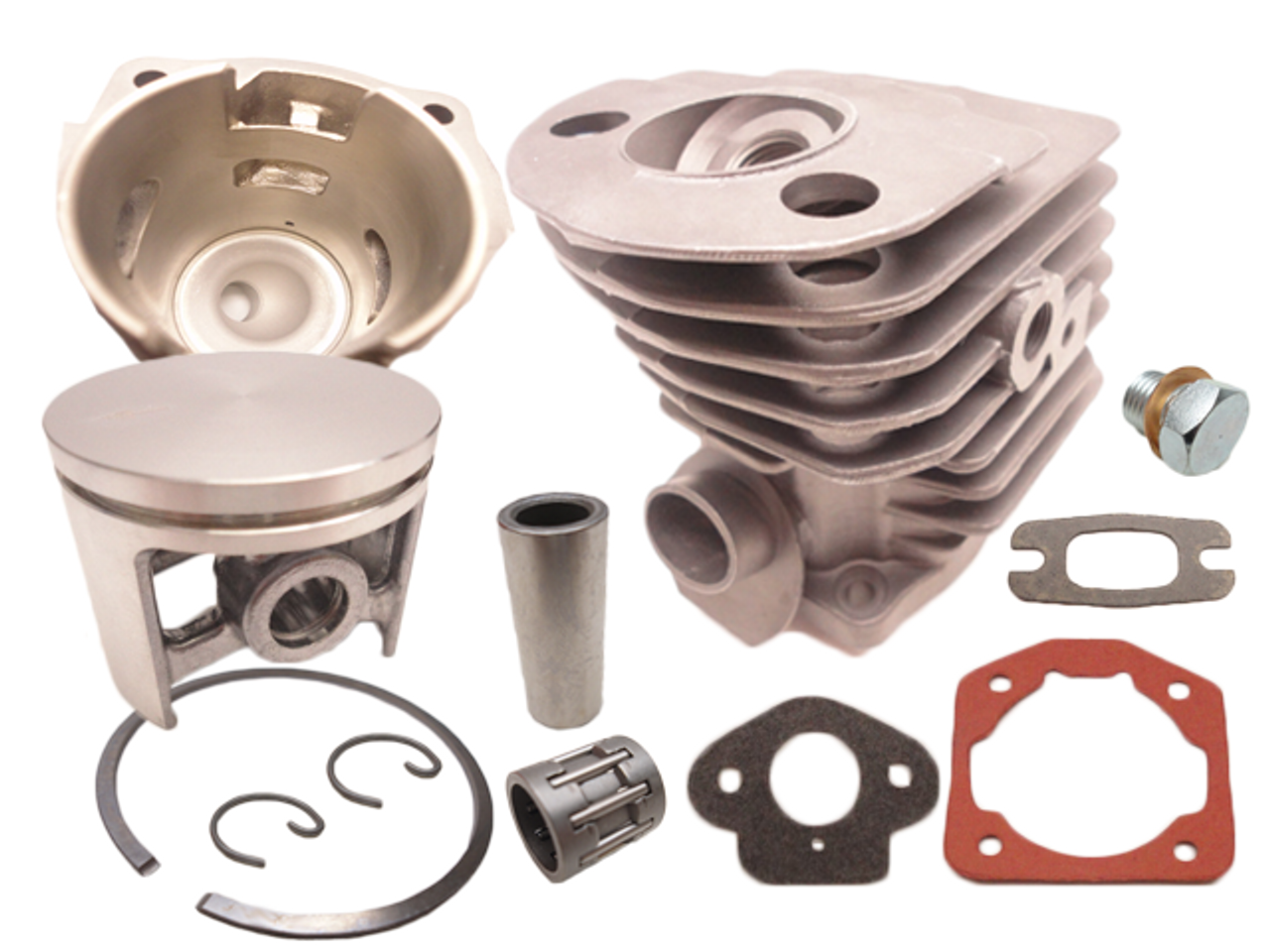 55 Cylinder and piston Kit 46MM Fits Husqvarna Chainsaw 51 55 Rancher