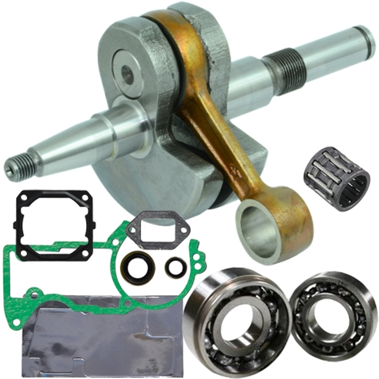 Crankshaft Bearings and Seal Kit for Stihl MS440 044 Chainsaws