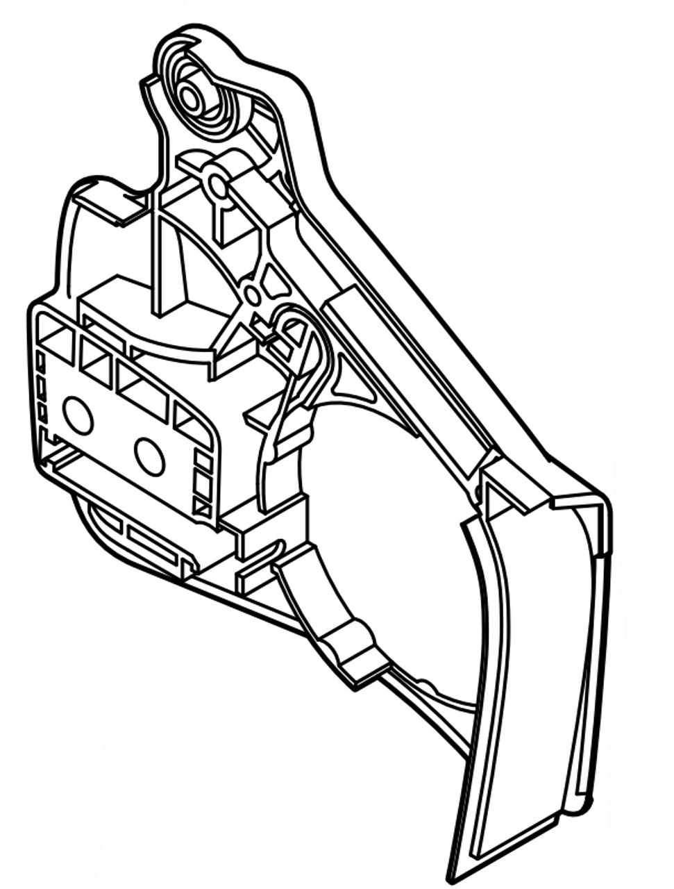 Echo CS-350TES, CS-361P Clutch Cover, New Oem C300000242