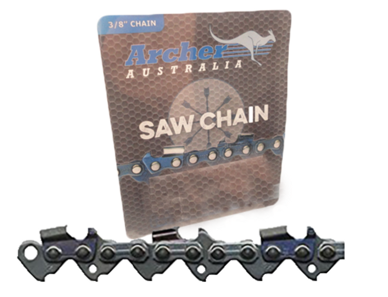 """36"""" Archer 114 Drive Links .050 3/8 Full Chisel Chain"""