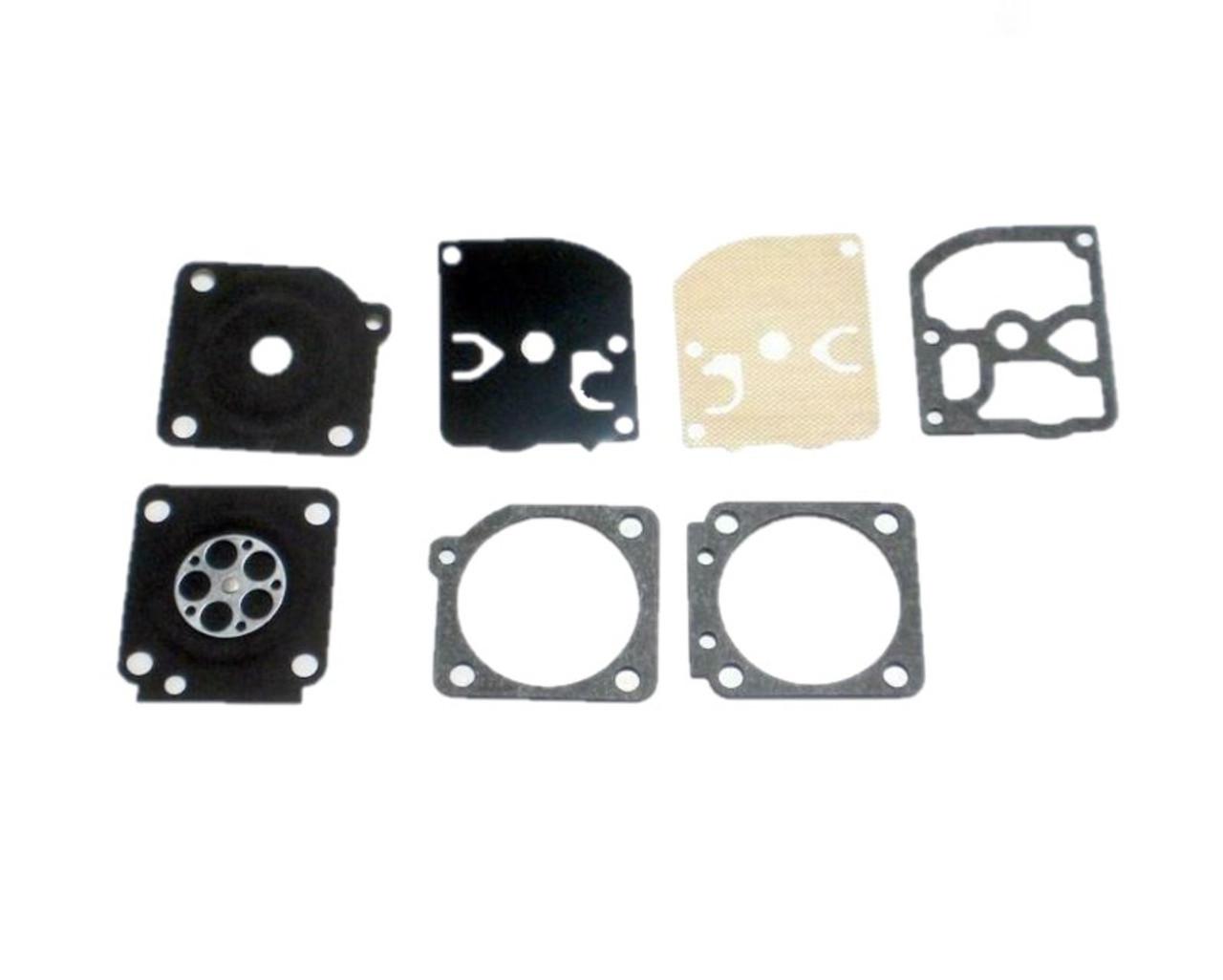 Dolmar Ps-510, Ps-5105, Ps460, Ps-5100, Makita Ea5000, Dcs Gasket and Diagram Kit GND-27  Carburetor Kit New OEM 181153020