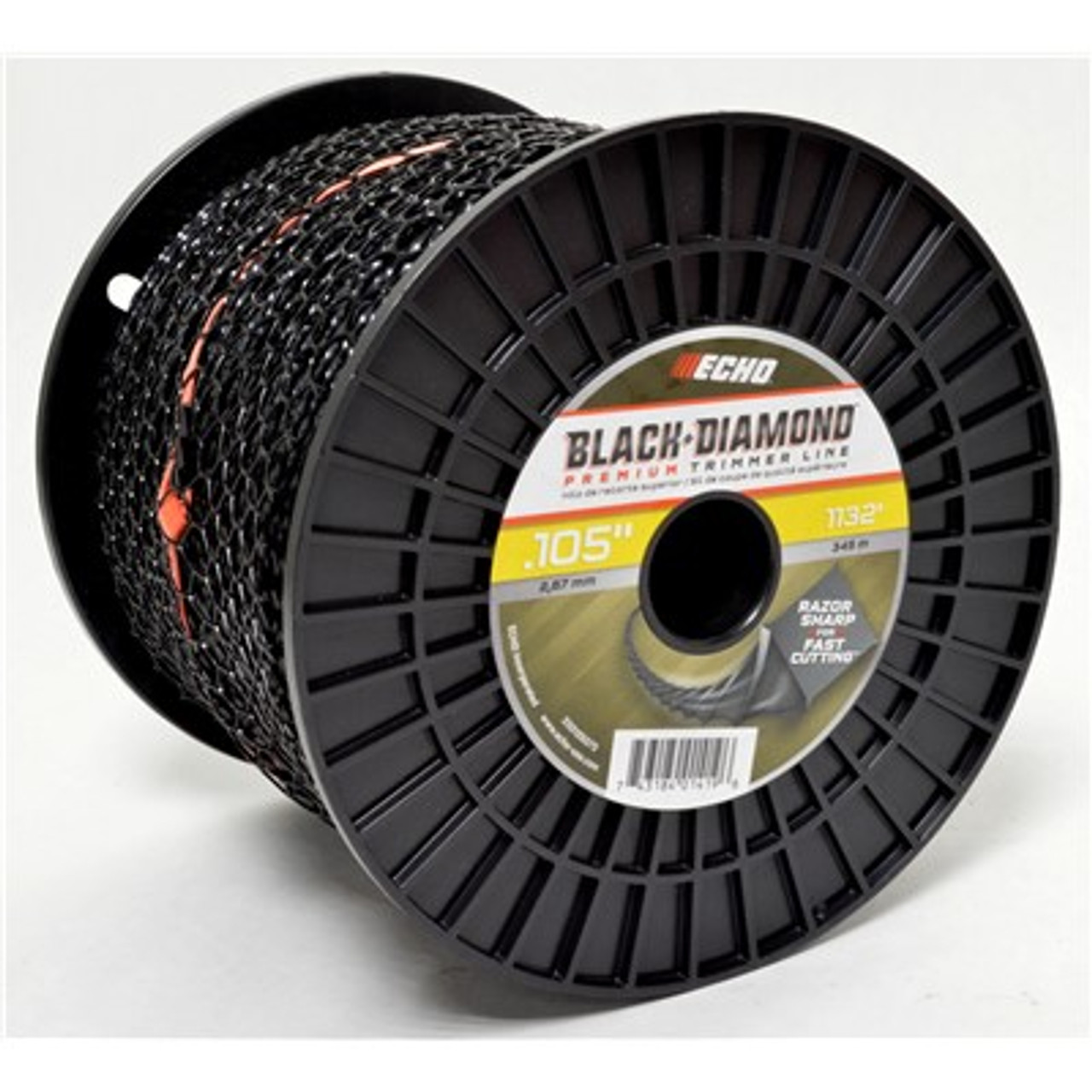 Echo Srm, Gt, .105 Black Diamond Trimmer Line 1132 Feet, 5lb spool, Professional Grade 330105075