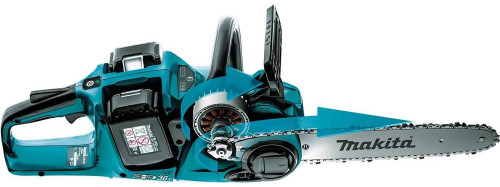 "Makita 18V X2 Lxt Lithium‑Ion (36V) Brushless Cordless 14"" Chain Saw Kit (5.0Ah) Xcu03Pt"