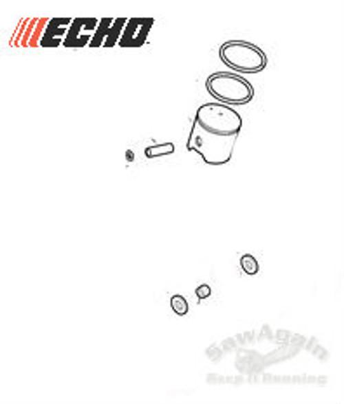 Echo Cs 620P Piston Kit New Oem P021043990, P021043991
