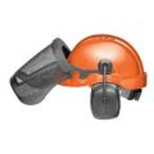 Elvex ProGuard Safety Helmet with Head, face and hearing Protection Cu-30r