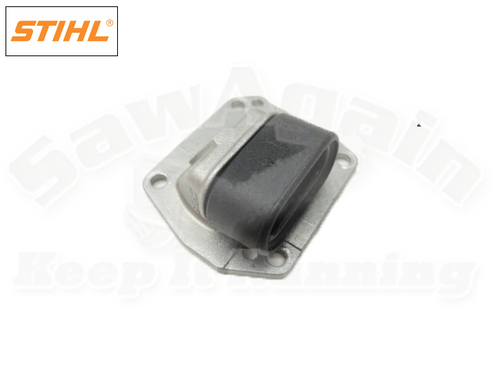 STIHL 029 039 MS 310 MS 290 390 COMPENSATOR PLATE / END COVER WITH GROMMET NEW OEM 11241219100, 11281210801