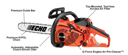 ECHO CS-361P 14'' 16'' CHAINSAW NEW