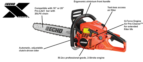 "Echo Cs-501P 18"" 20'' Chainsaw New"