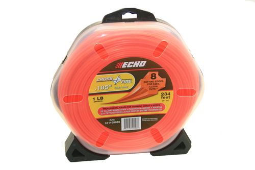 Echo Srm, Gt, .105 Crossfire Trimmer Line 1Lb 234 Feet Professional Grade 3111050065