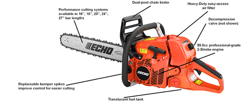 Echo Cs-620PW Chainsaw Power Head