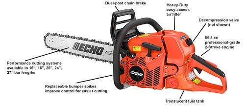 Echo Cs-620P Chainsaw