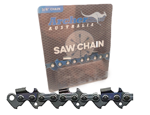"18"" Archer 64 Drive Links .050 3/8 Full Chisel Chain"