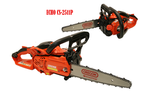 Echo Cs-2511P  Chainsaw Carving Set up