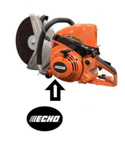 Echo Csg-7410 Starter Label New Oem X502001120