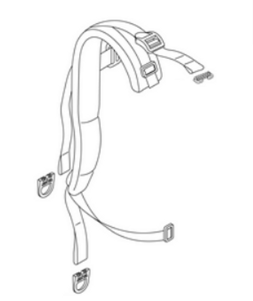 Echo 9010H, 9010T Backpack Blower Harness Strap Left P021053640