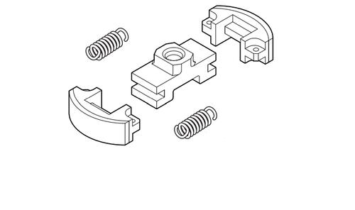 Echo HC-2420, HC-3020, HCS-3020, HCS-4020 Clutch Assy New Oem A056000750