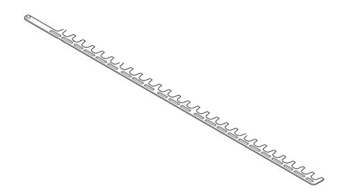 "Echo HCS-4020 40"" Lower Blade, New Oem X412000730"