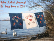 Free Personalised Baby Blanket for the first baby born in 2018