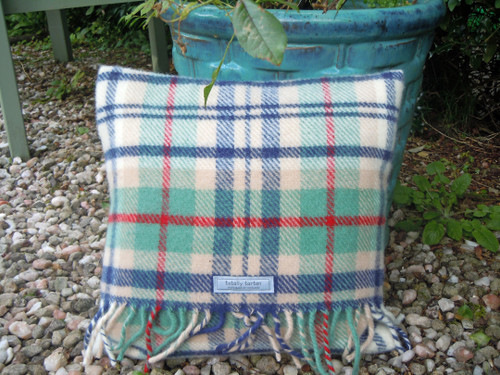 Coastal Plaid Cushion