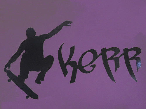 Skateboard Graphic with name