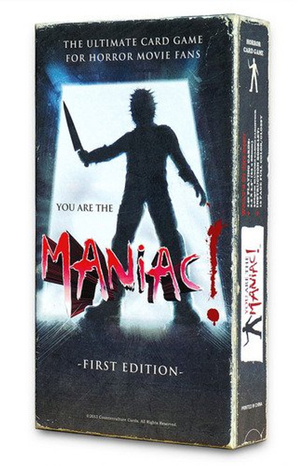 """The classic slasher movie party game! Or as we say...it's the """"Most Expensive VHS You'll Buy in 2018!"""""""