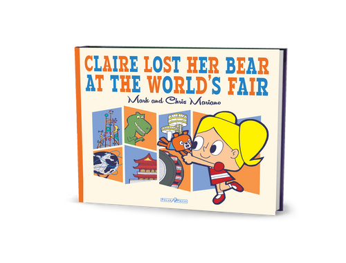 Claire Lost Her Bear At The World's Fair® Children's Book