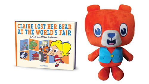 Claire Lost Her Bear at The Worlds Fair (Book+Plush)