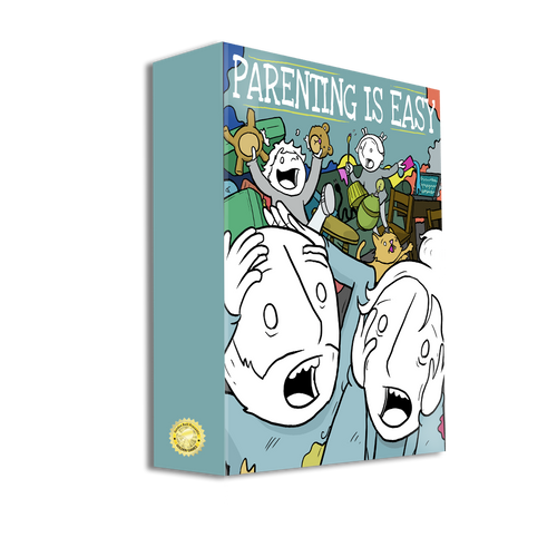 Lunarbaboon's Parenting is Easy Board Game