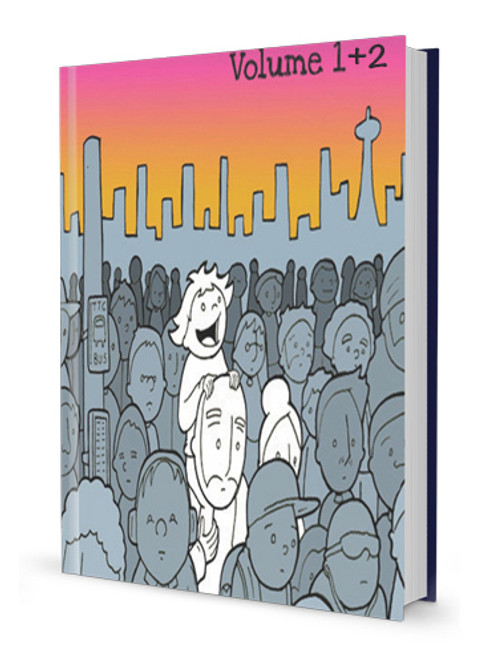Lunarbaboon Deluxe Vol. 1 + 2 Hardcover Comics