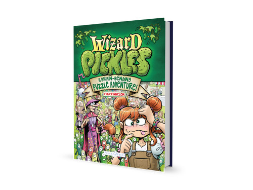 Wizard Pickles Puzzle Book