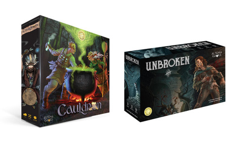 Dark Fantasy Gamer Bundle: Unbroken and Cauldron