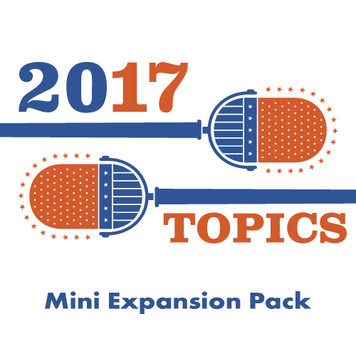 The Contender: 2017 Topics Mini Expansion Pack